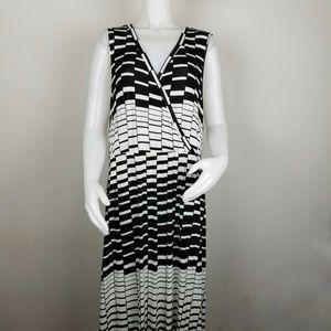 Lane Bryant 22/24 Crossover Sleeveless Maxi Dress